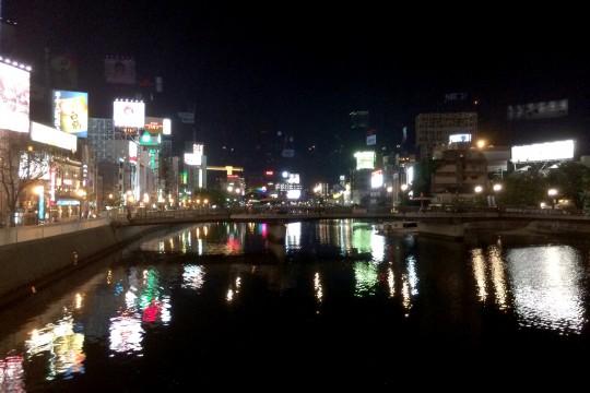 中洲の夜景2