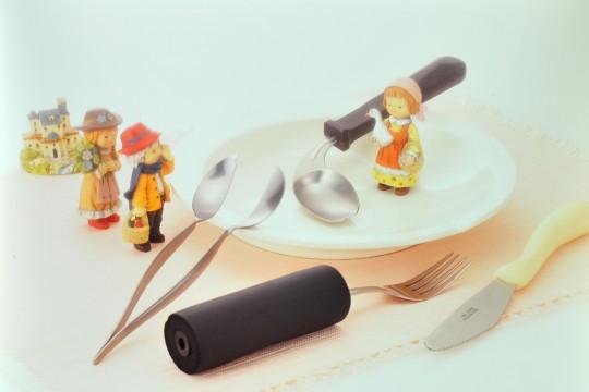 小人と食器