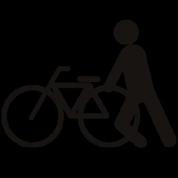 ピクトグラム 自転車を盗む1