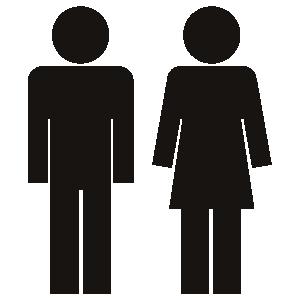 ピクトグラム 男性女性1