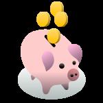 ブタの貯金箱3