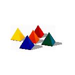ピラミッド型のオブジェクト