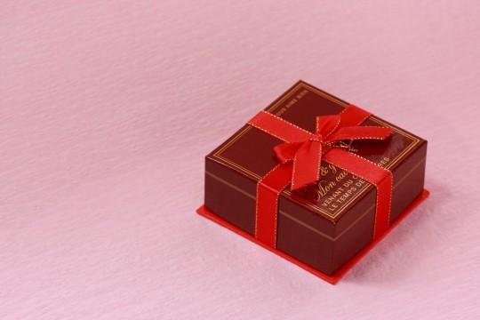 バレンタインのプレゼントボックス3