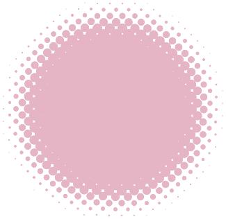 円形アシッドアイコン(ピンク)