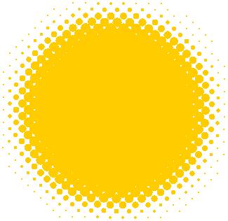 円形アシッドアイコン(黄)