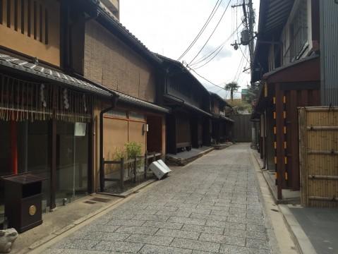 京都の風情ある路地