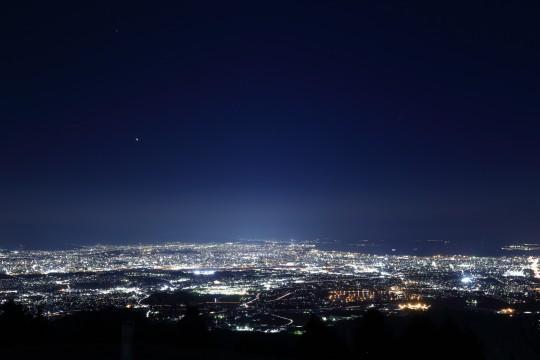 山頂からの夜景