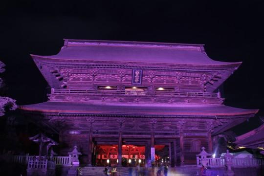 善光寺灯明祭 山門4
