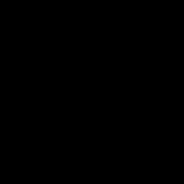 笹のシルエット