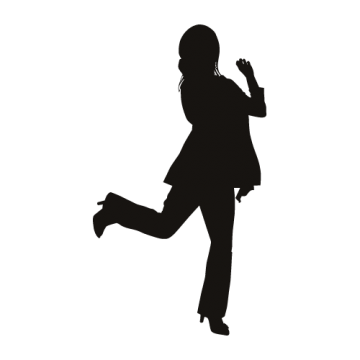 人物シルエット6