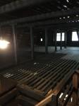 古民家の屋根裏部屋