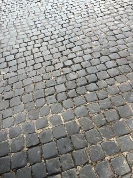 ローマの石畳