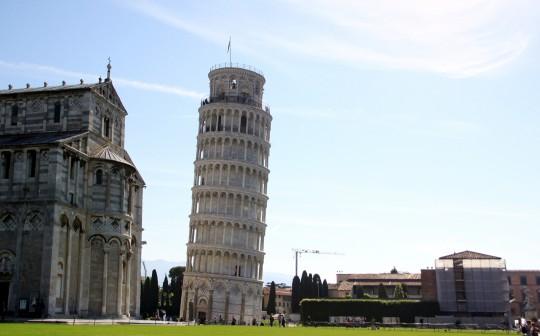 ピサの有名すぎる世界遺産、ピサの斜塔