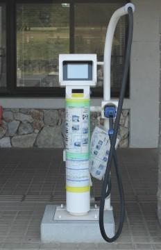電気自動車充電スタンド1