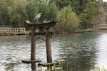 湖上の鳥居