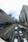 大阪梅田の街並み
