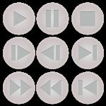 ビデオコントロールボタンセット